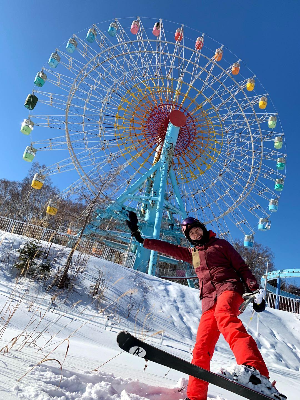 北海道滑雪 手稻滑雪場 摩天輪