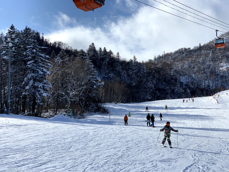 北海道滑雪 札幌國際滑雪場 綠線