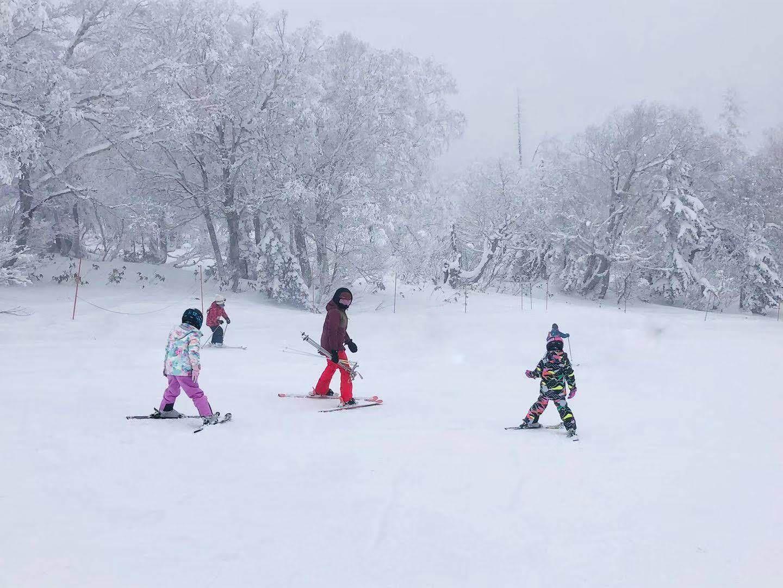北海道滑雪 札幌國際滑雪場 雪況